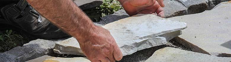 diverse steensoorten